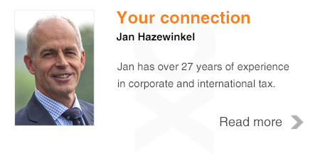 Jan Hazewinkel | Corporate tax specialist